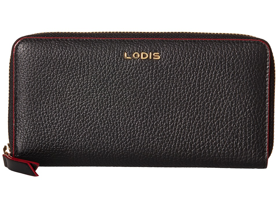Lodis Accessories - Kate Joya Wallet (Black) Wallet Handbags