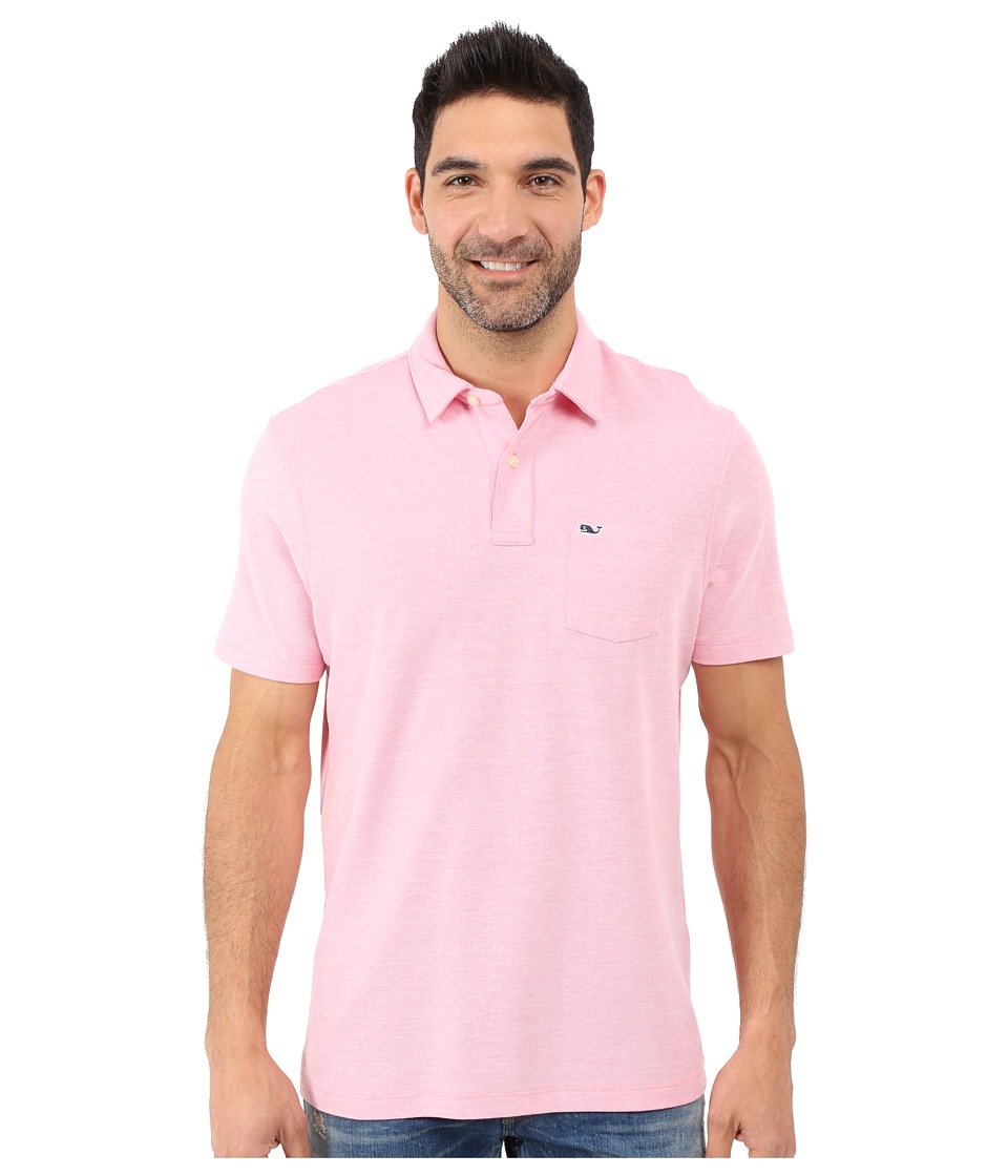 Vineyard Vines - Reverse Oxford Pique Polo (Island Sunset) Men's Clothing