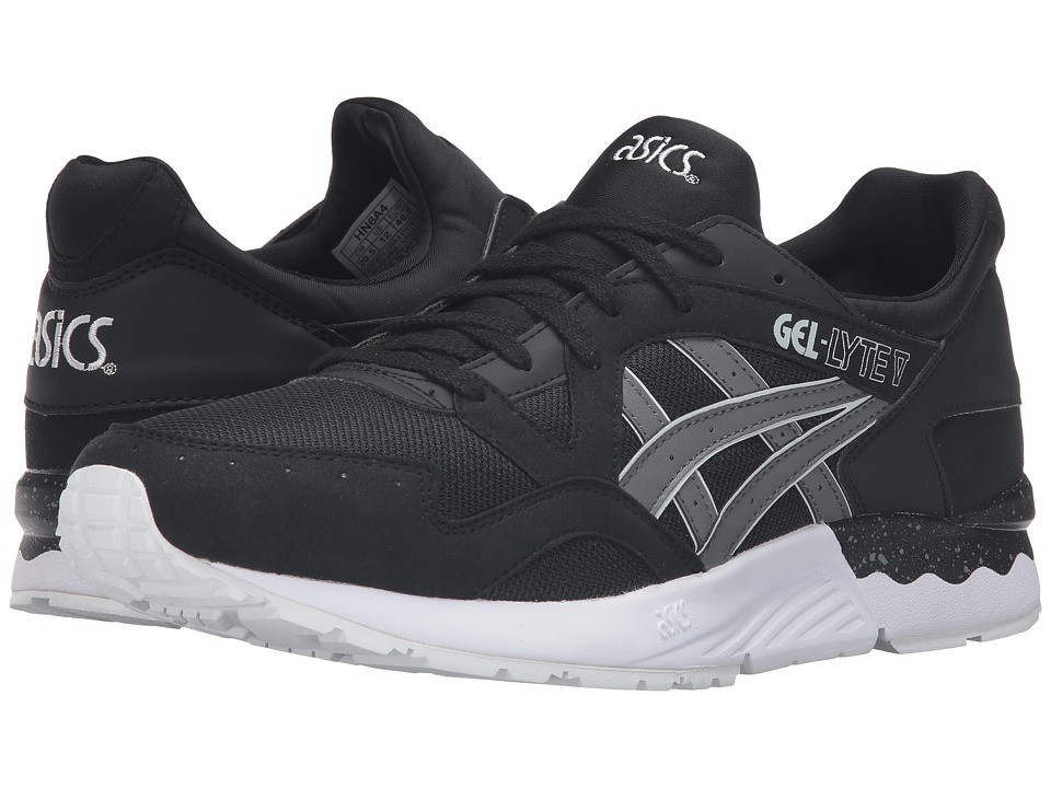 Onitsuka Tiger by Asics - Gel-Lyte V (Black/Grey) Shoes