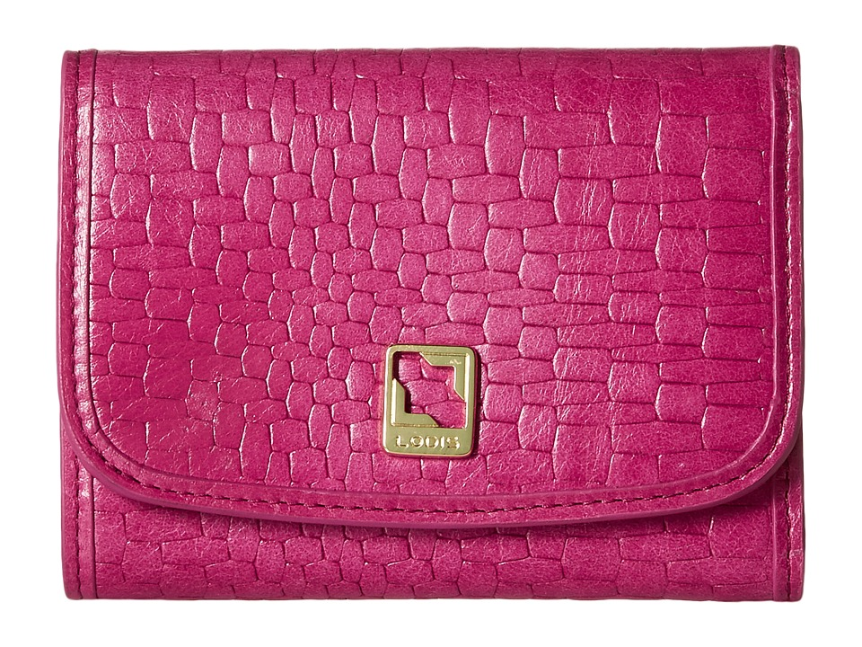 Lodis Accessories - Palma Mallory French Purse (Fuchsia) Wallet Handbags
