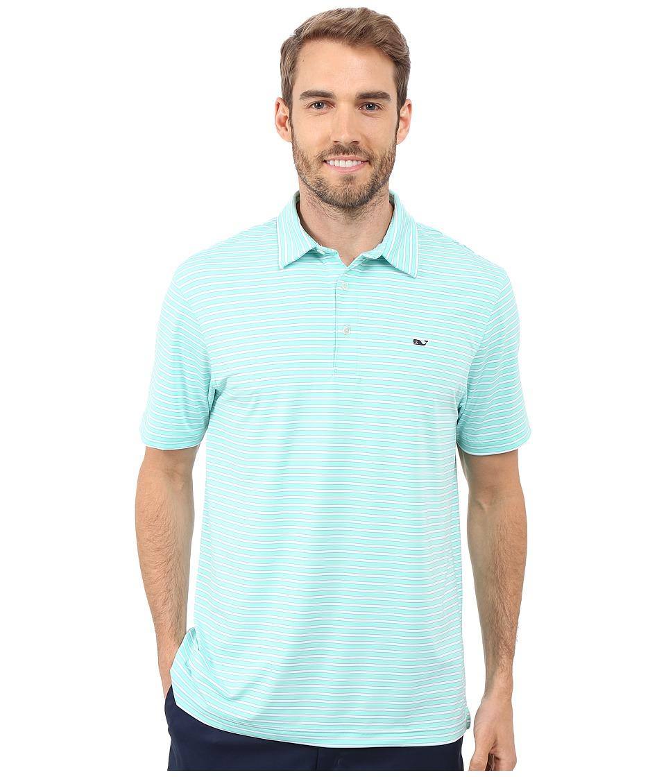 Vineyard Vines - Jive Stripe Polo (Marina) Men's Short Sleeve Knit