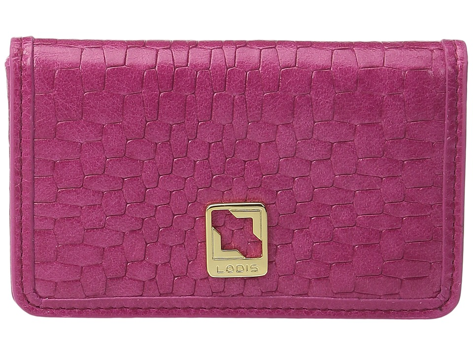 Lodis Accessories - Palma Mini Card Case (Fuchsia) Credit card Wallet
