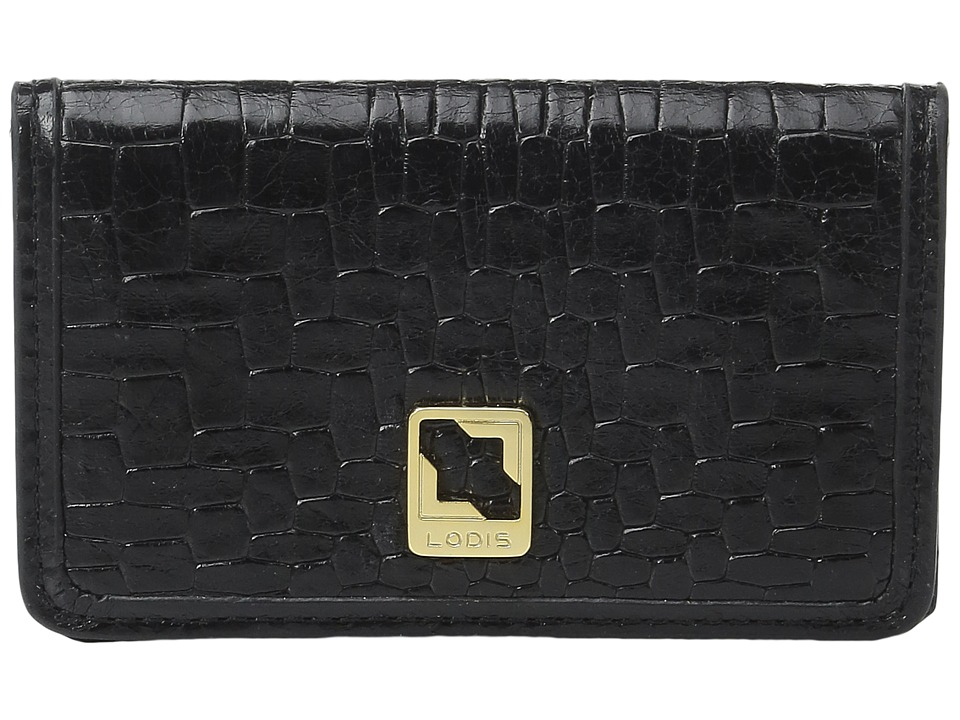 Lodis Accessories - Palma Mini Card Case (Black) Credit card Wallet