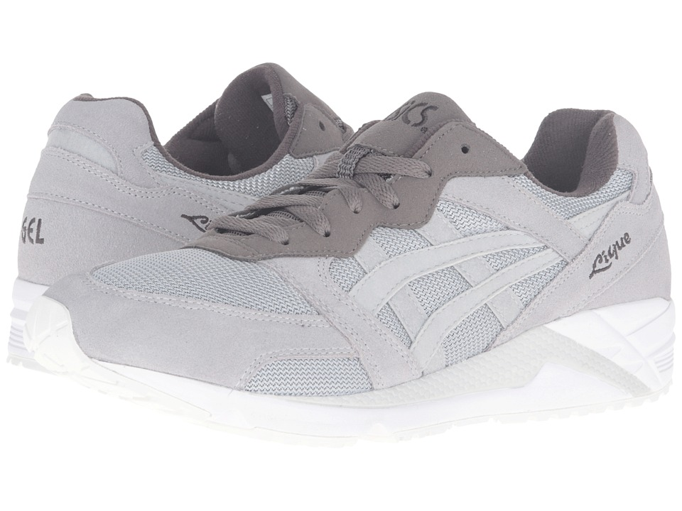 Onitsuka Tiger by Asics Gel-Lique (Light Grey/Light Grey) Athletic Shoes