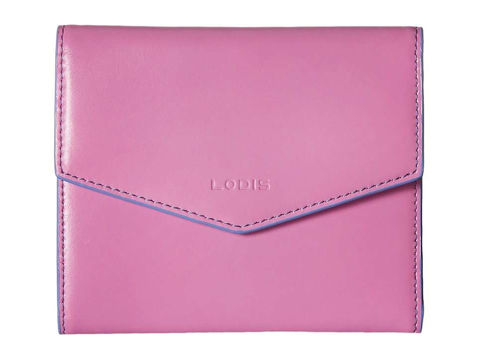 Lodis Accessories - Audrey Lana French Purse (Rose/Lilac) Wallet Handbags