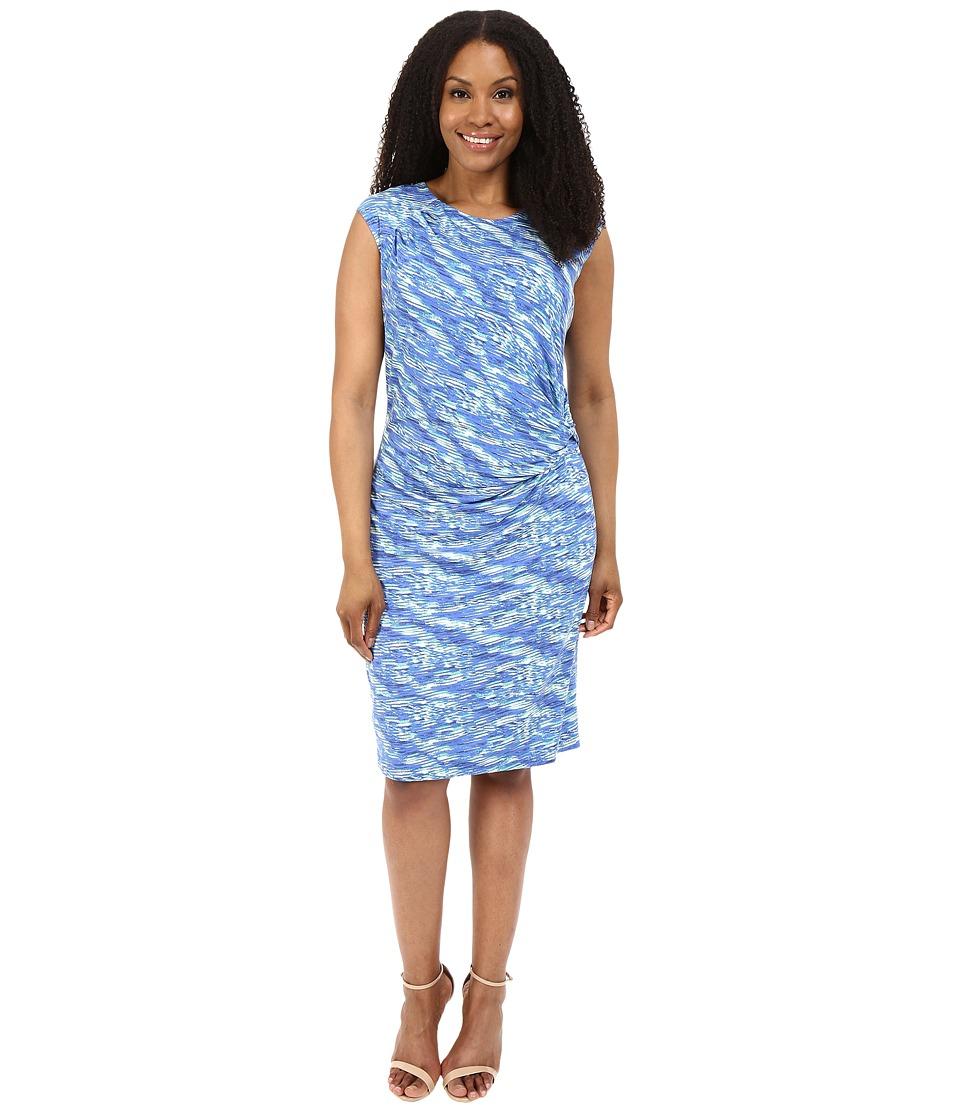 NIC+ZOE - Plus Size Water Waves Twist Dress (Multi) Women's Dress