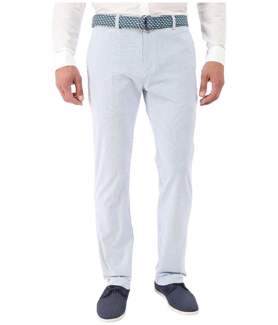 Vineyard Vines - Fine Line Seersucker Breaker Pants (Spinnaker) Men's Casual Pants