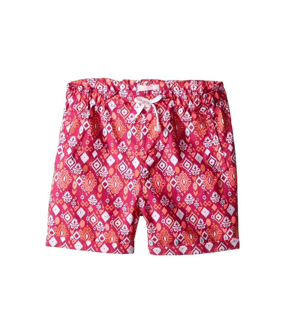Pumpkin Patch Kids - Zoe Pull-On Shorts (Toddler/Little Kids/Big Kids) (Raspberry) Girl's Shorts