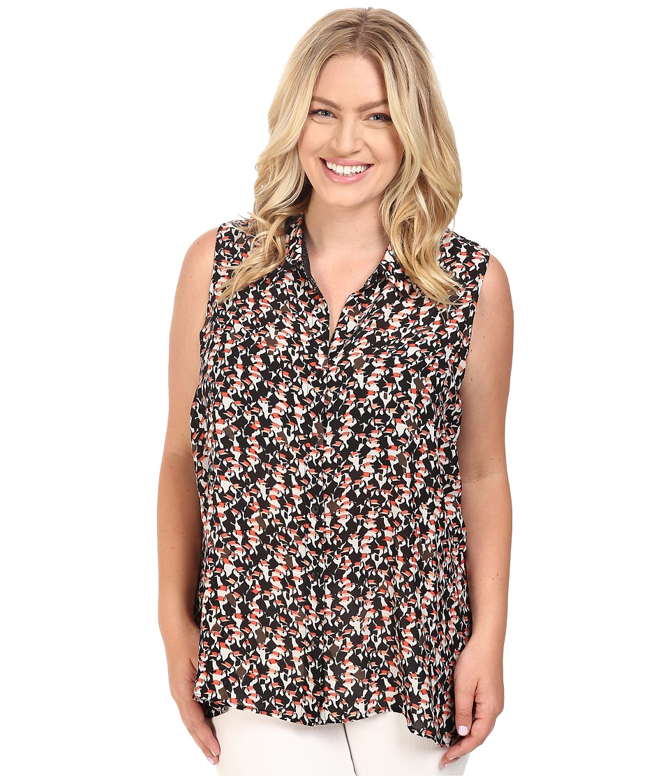 NIC+ZOE - Plus Size Toucan Layer (Multi) Women's Clothing