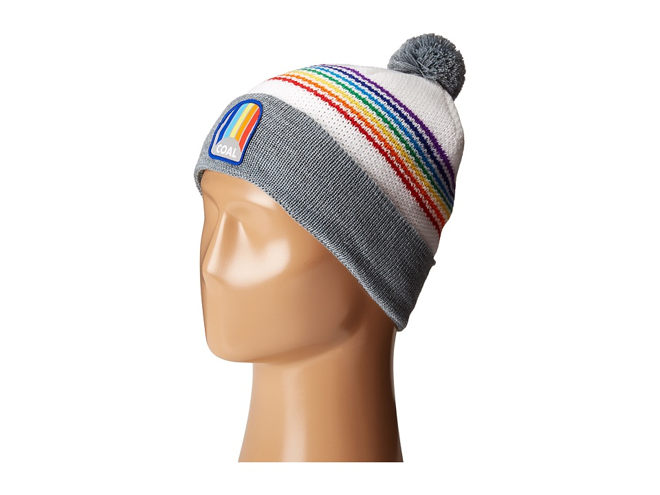 Coal - The Odyssey (Heather Grey (Rainbow)) Knit Hats