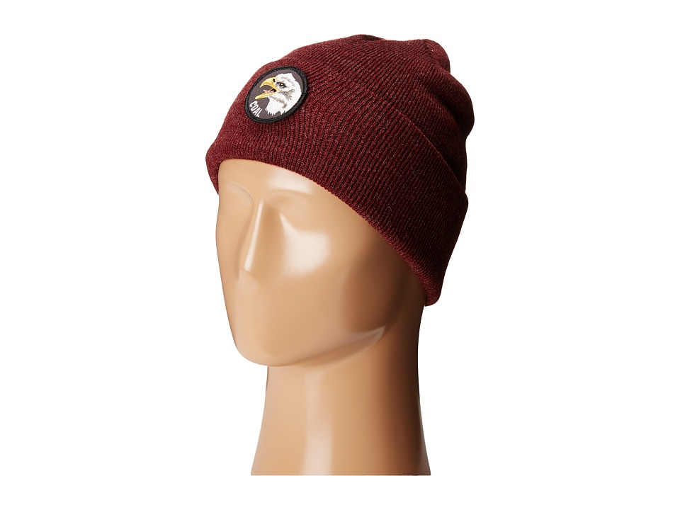 Coal - The Prey (Heather Burgundy) Knit Hats