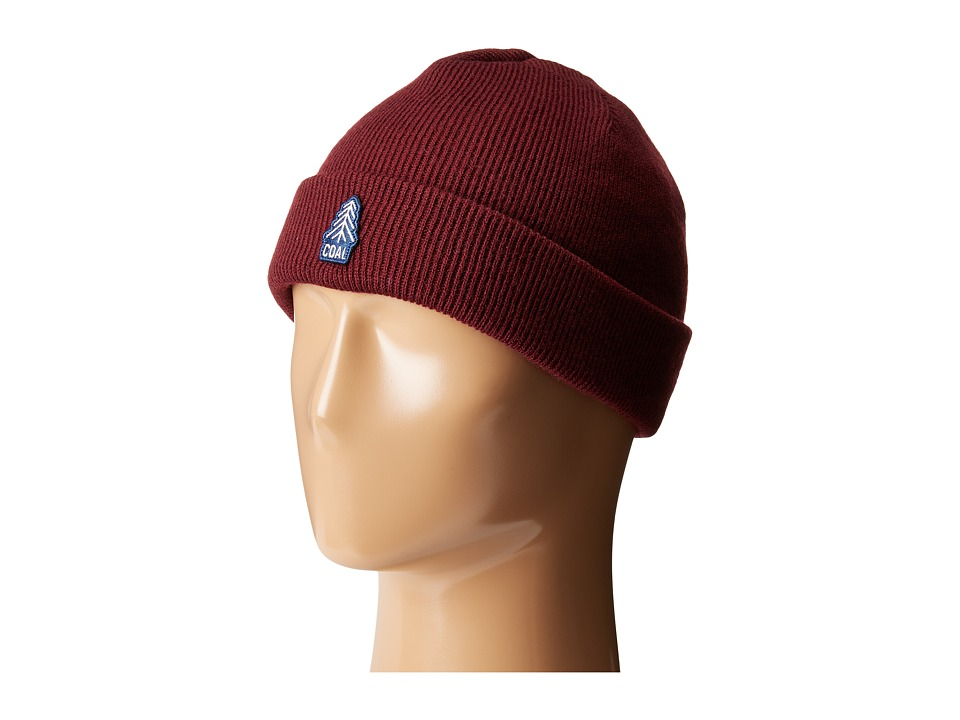 Coal - The Junior Beanie (Burgundy) Beanies