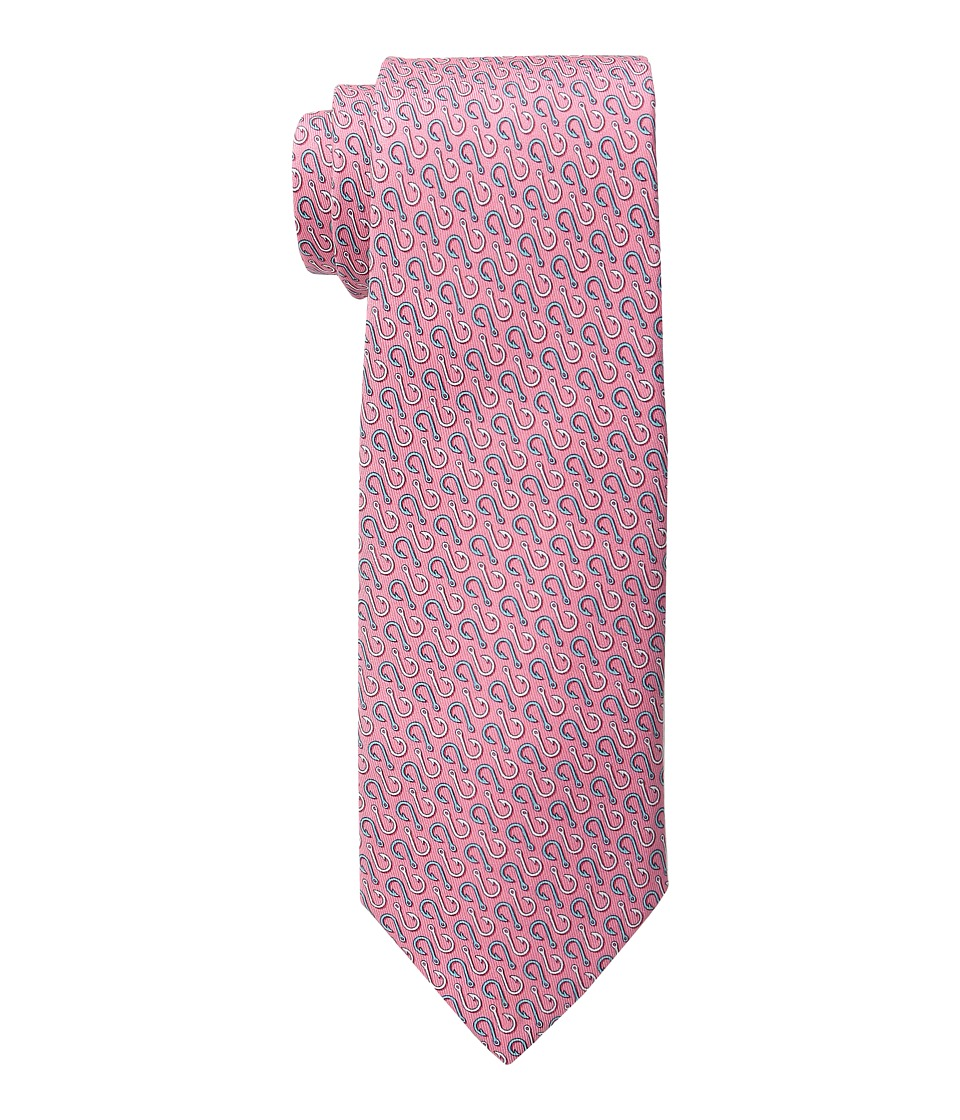Vineyard Vines - Printed Tie-Hooks (Light Pink) Ties