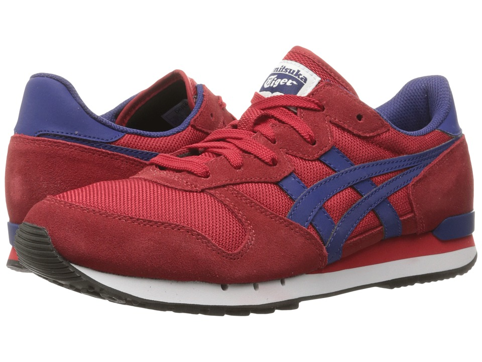 Onitsuka Tiger by Asics - Alvarado (Red/Blue Print) Athletic Shoes