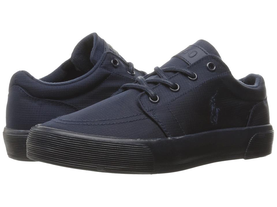 Polo Ralph Lauren Kids - Faxon II (Big Kid) (Triple Navy Nylon/Navy) Boy's Shoes