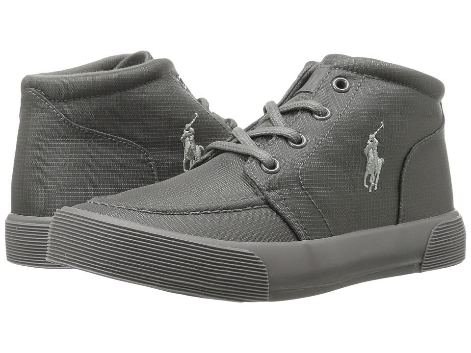 Polo Ralph Lauren Kids - Faxon II Mid (Toddler) (Triple Grey Nylon/Grey Pony) Boy's Shoes