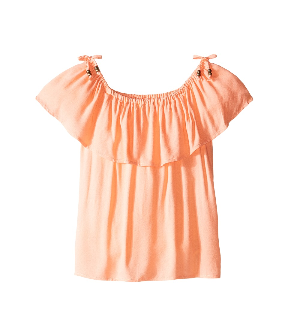 Pumpkin Patch Kids - Off Shoulder Top (Big Kids) (Desert Flower) Girl's Blouse