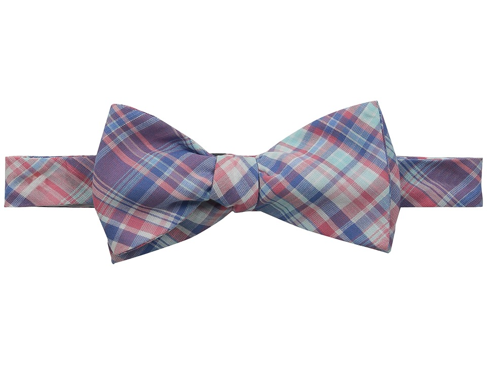 Vineyard Vines - Woven Bow-George Hill Plaid (Jetty Red) Ties