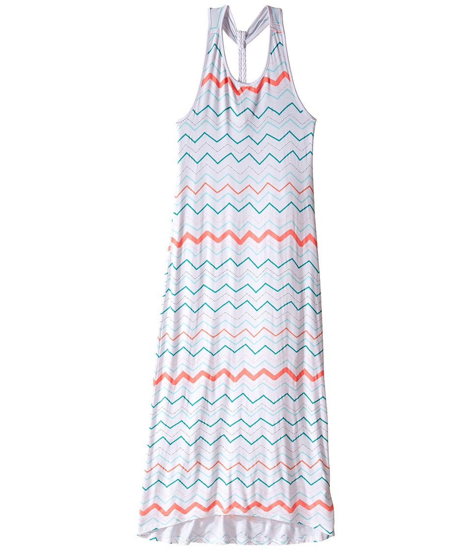 Pumpkin Patch Kids - Plait Back Maxi Dress (Big Kids) (Super White) Girl's Dress