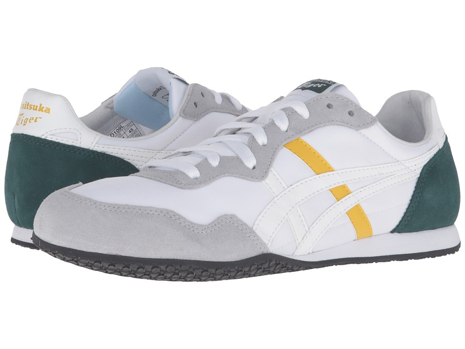 Onitsuka Tiger by Asics - Serrano (White/White) Classic Shoes