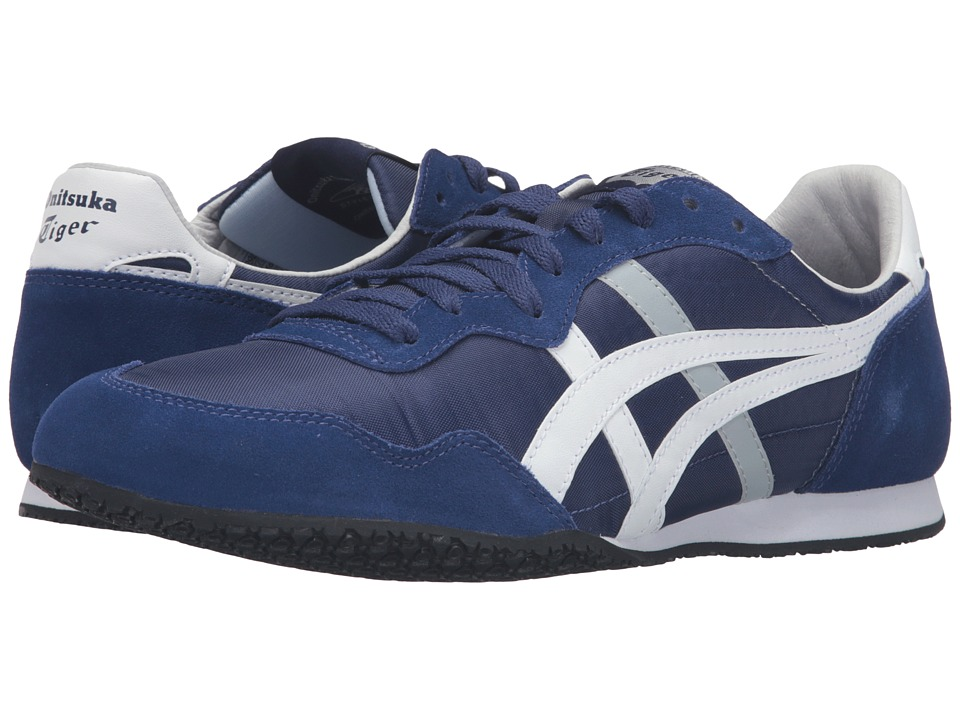 Onitsuka Tiger by Asics - Serrano (Blue Print/White) Classic Shoes