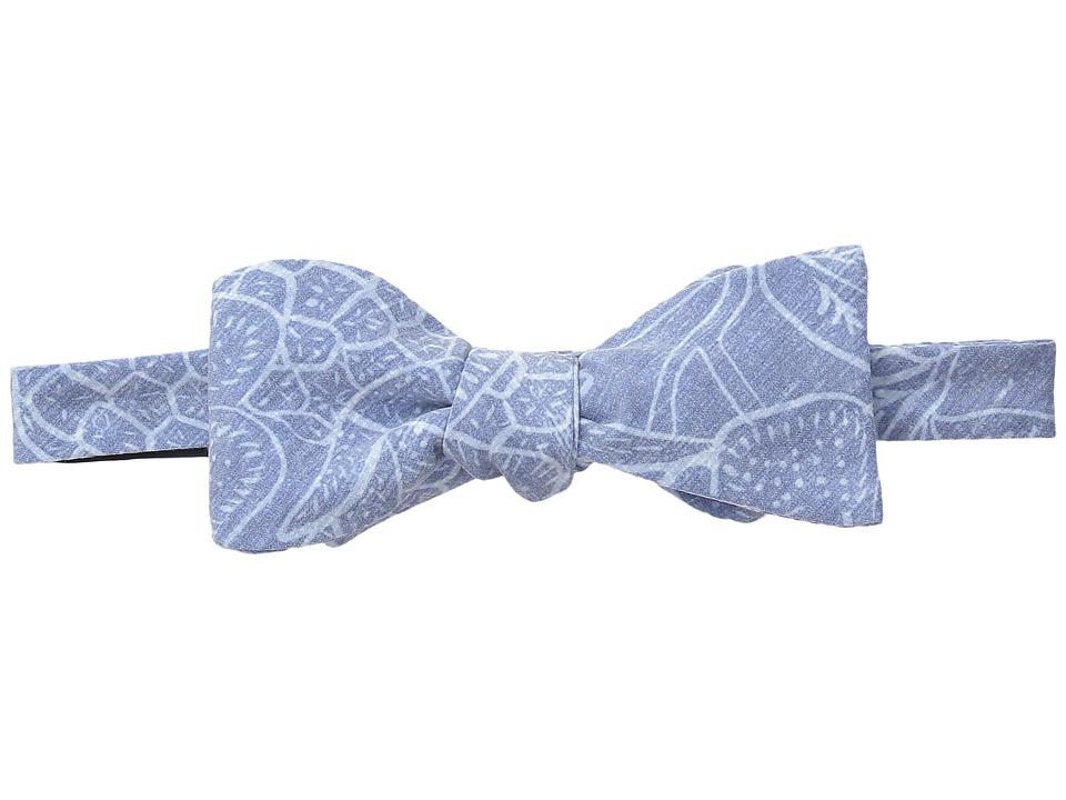 Vineyard Vines - Woven Bow-Pineapple Hibiscus (Flag Blue) Ties