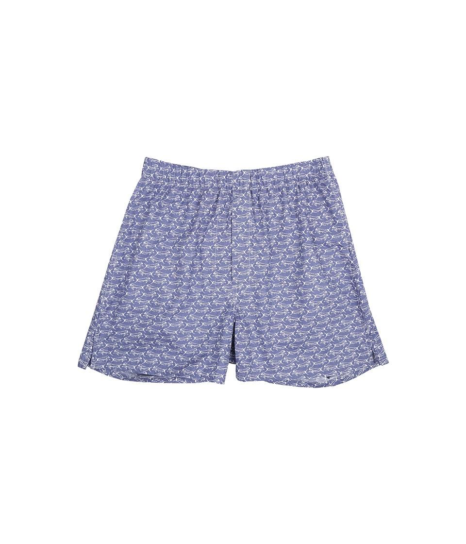 Vineyard Vines - Boxer Shorts-Mahi Mahi (Shoal Blue) Men's Underwear