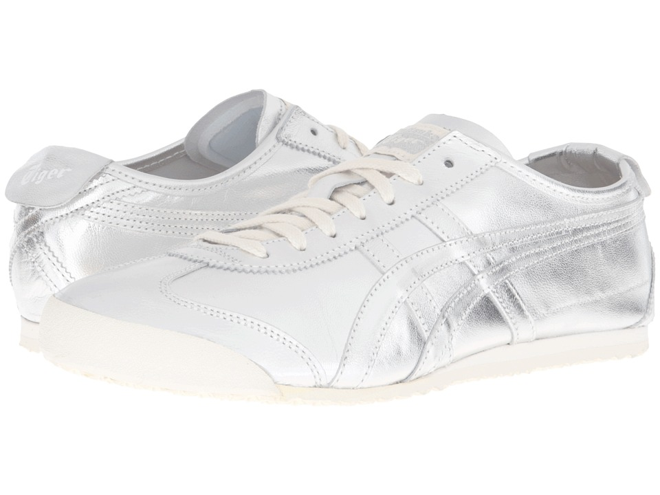 Onitsuka Tiger by Asics - Mexico 66 (Silver/Silver) Lace up casual Shoes