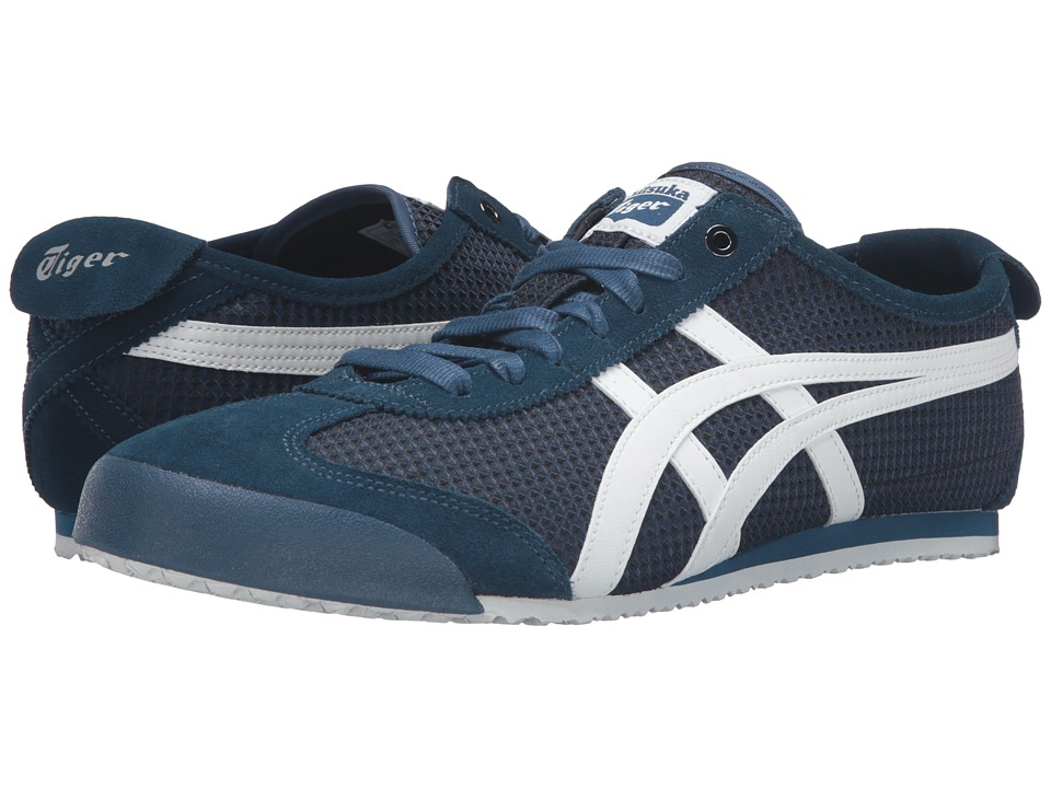 Onitsuka Tiger by Asics - Mexico 66 (Poseidon/White) Lace up casual Shoes