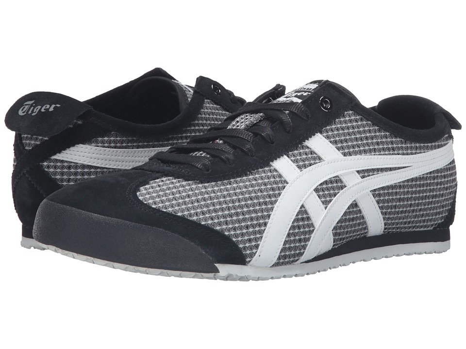 Onitsuka Tiger by Asics - Mexico 66 (Black/White) Lace up casual Shoes