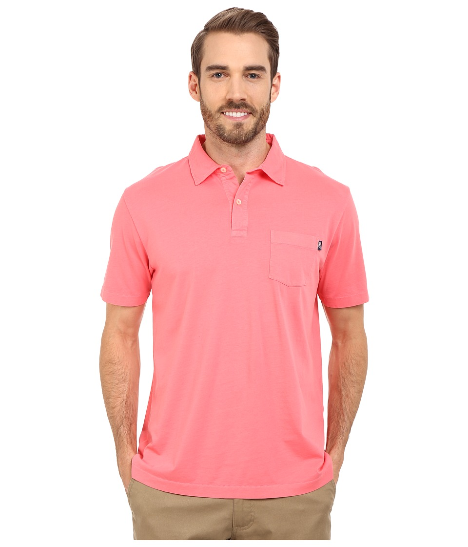 Vineyard Vines - Pigment Garment Dyed Polo (Mai Tai) Men's Clothing