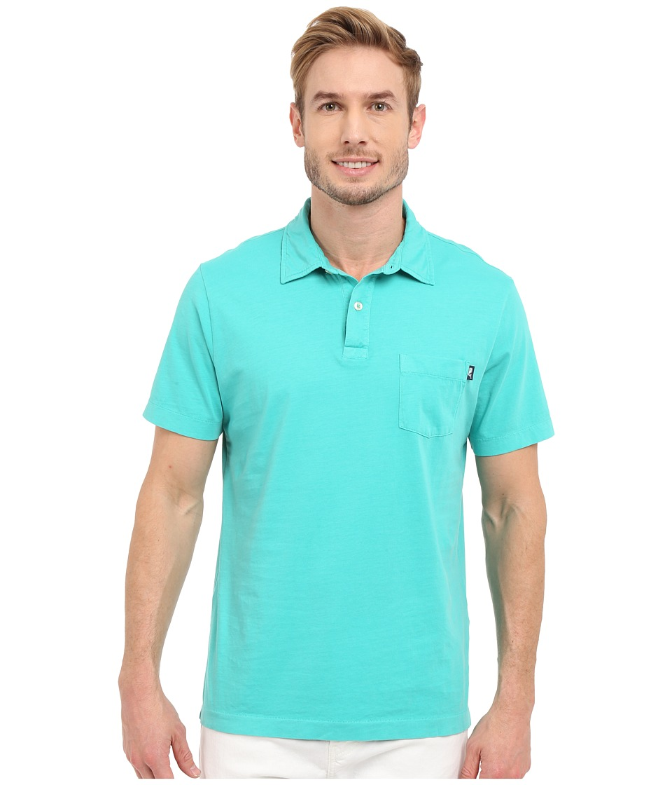 Vineyard Vines - Pigment Garment Dyed Polo (Aquinnah Aqua) Men's Clothing