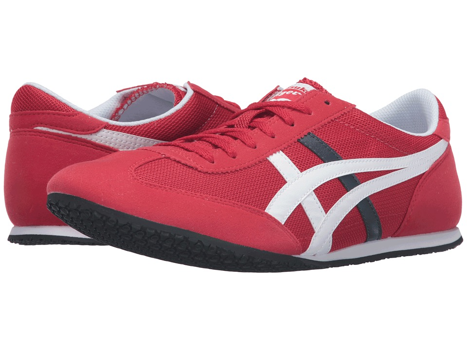 Onitsuka Tiger by Asics - Machu Racer (Cerise/White) Shoes