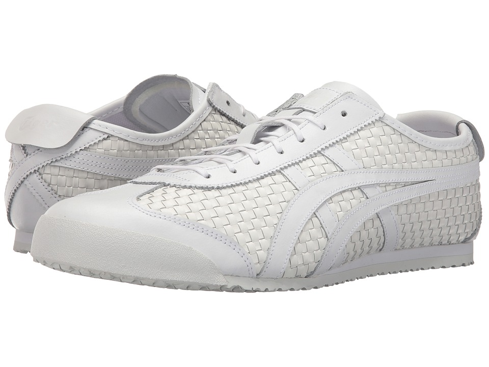 Onitsuka Tiger by Asics - Mexico 66 (White/White) Lace up casual Shoes