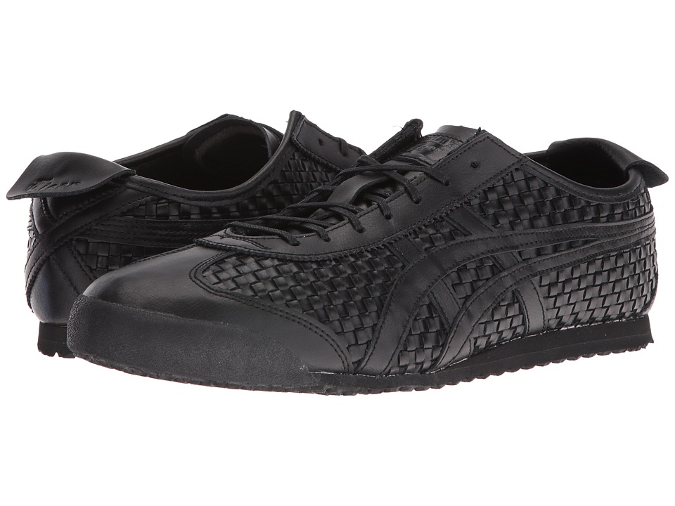 Onitsuka Tiger by Asics - Mexico 66 (Black/Black 1) Lace up casual Shoes