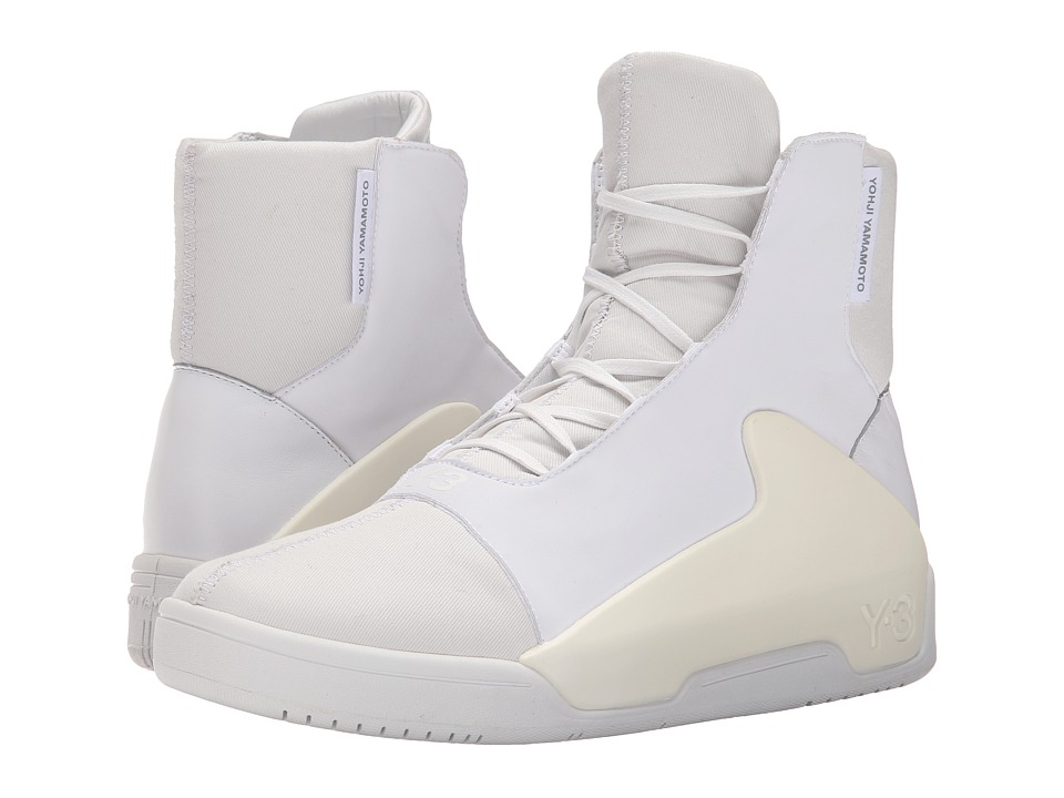 adidas Y-3 by Yohji Yamamoto - Hayworth Mid (White/Vintage White S-15-ST/White) Men's Shoes