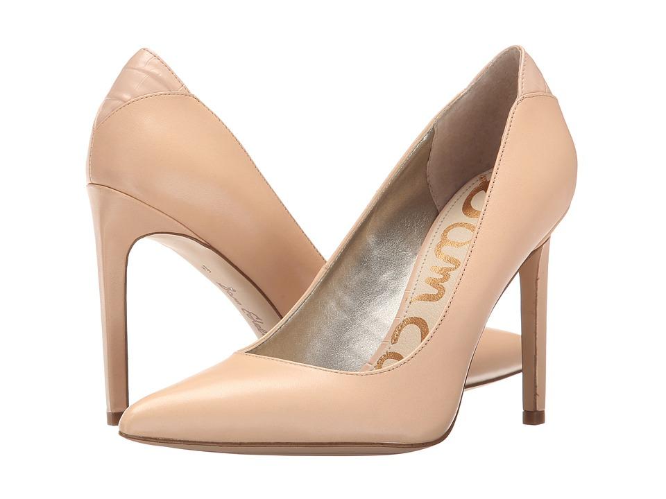 Sam Edelman Dea Soft Nude Vaquero Saddle Leather Shoes
