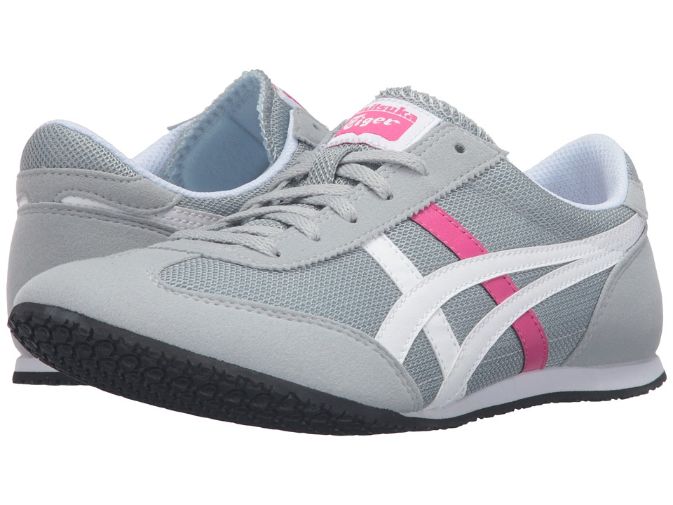 Onitsuka Tiger by Asics Machu Racer (Light Grey/White) Women
