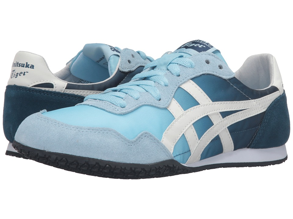 Onitsuka Tiger by Asics Serrano Crystal Blue-Light White Womens Classic Shoes