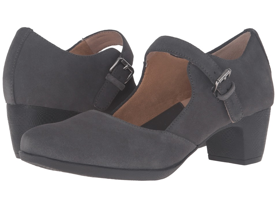 SoftWalk - Irish (Dark Grey Suede Leather) High Heels