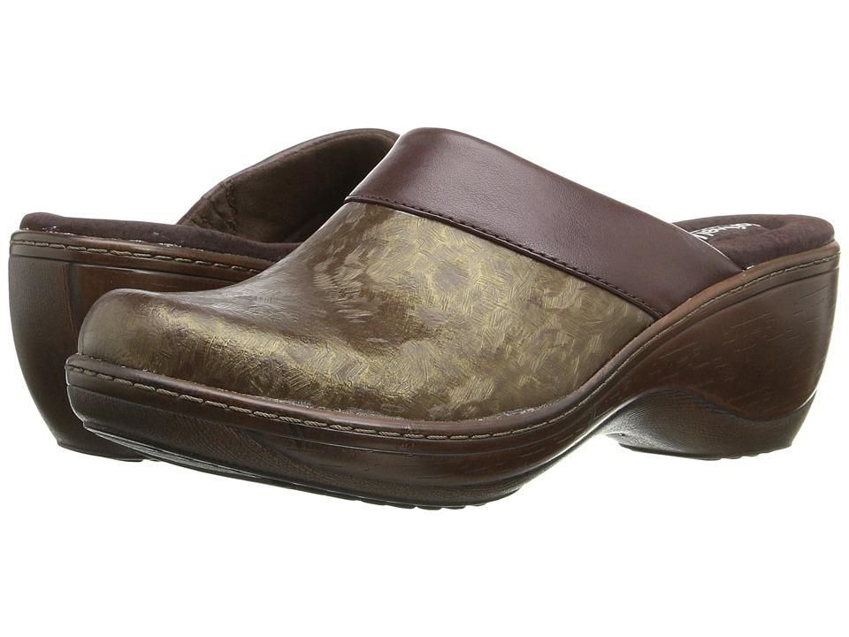 SoftWalk - Murietta (Bronze Marble) Women's Clog Shoes