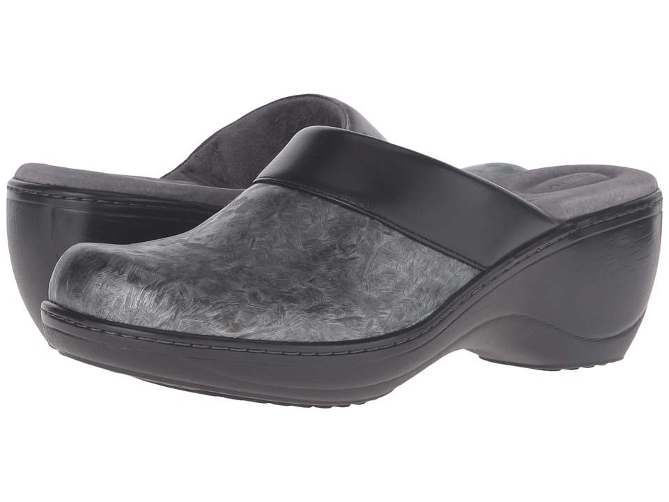 SoftWalk - Murietta (Grey Marble) Women's Clog Shoes