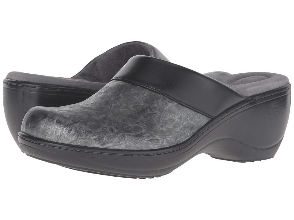 SoftWalk - Murietta (Grey Marble) Women's Clog Shoes