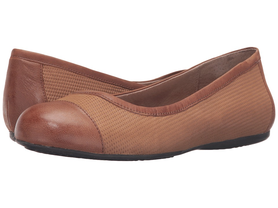 SoftWalk Napa (Cognac Nubuck Embossed Leather/Leather) Women