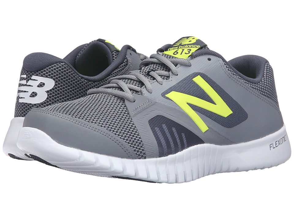 New Balance - MX613v1 (Gray/Yellow) Men's Shoes
