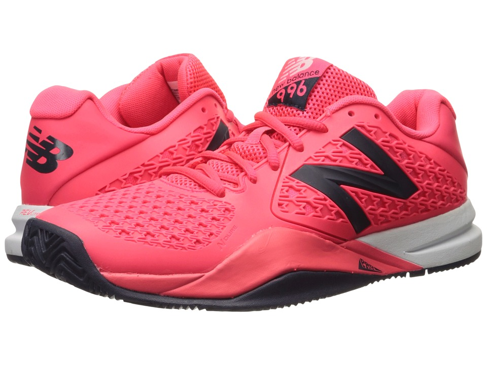 New Balance - MC996v2 (Bright Cherry/Black) Men's Tennis Shoes