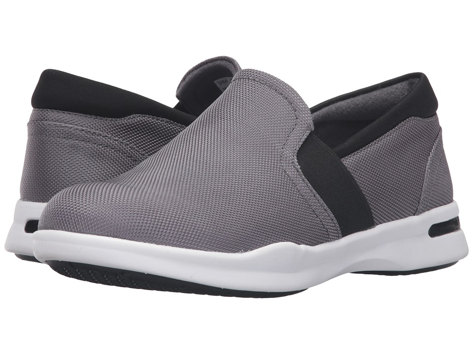 SoftWalk - Vantage (Grey/Black Ballistic Nylon) Women's Slip on Shoes