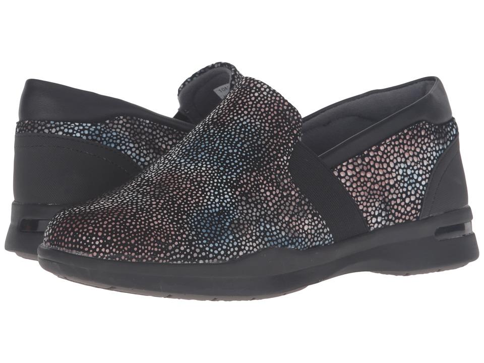 SoftWalk - Vantage Premium (Multi Mosaic Leather) Women's Slip on Shoes