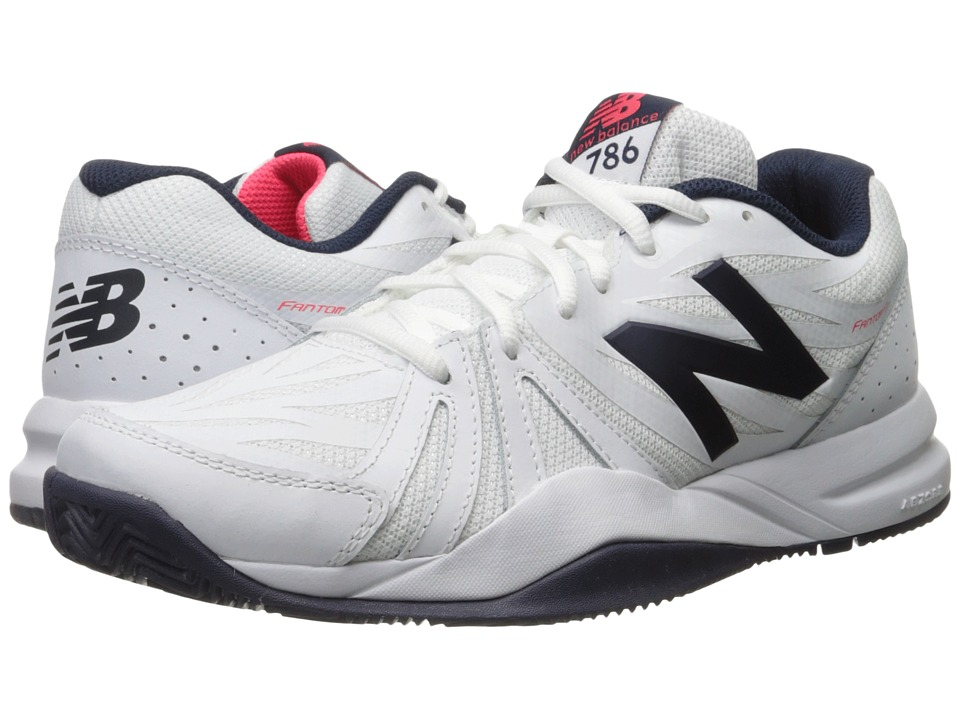 New Balance - MC786v2 (White/Pigment) Men's Shoes