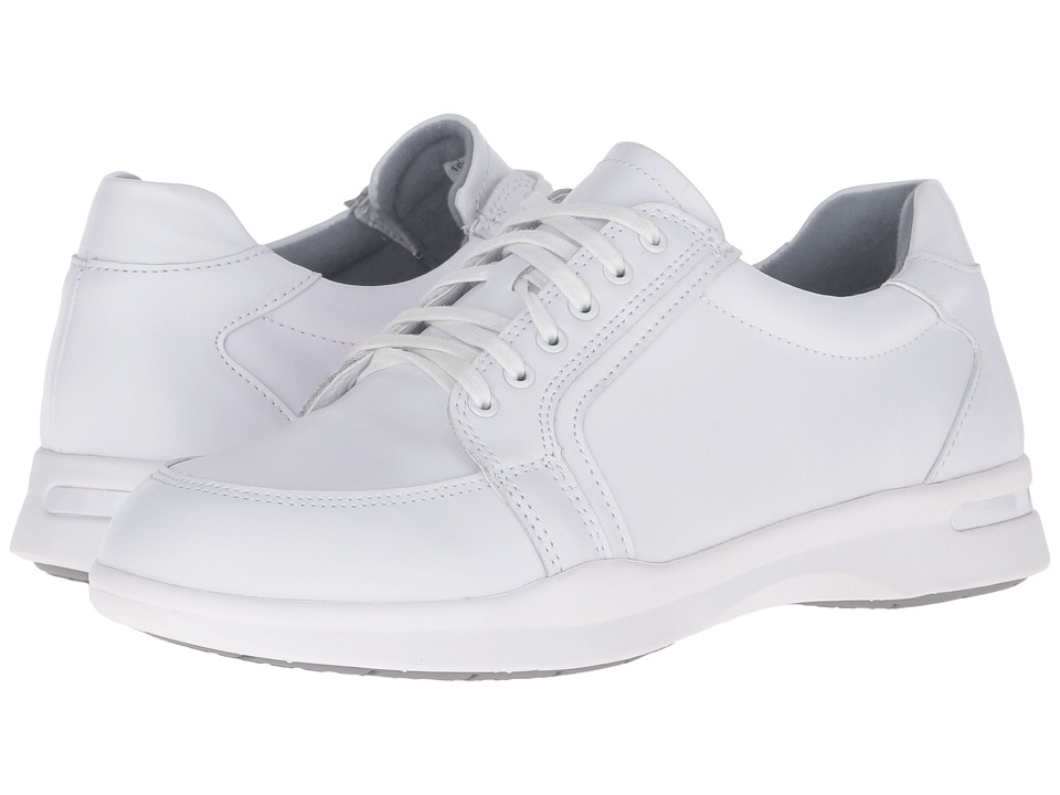 SoftWalk - Vital (White Action Leather) Women's Lace up casual Shoes